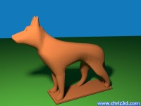 thumb image of German shepherd